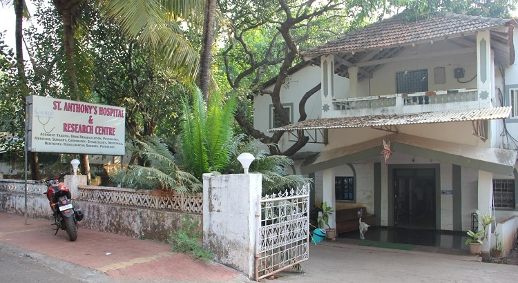 St.Anthony's hospital, Anjuna, Goa, India - Drug rehabilitation in Goa
