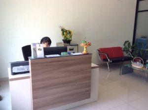 Bali Ozone Therapy - Ubud reception - image courtesy of Bali Ozone Clinic