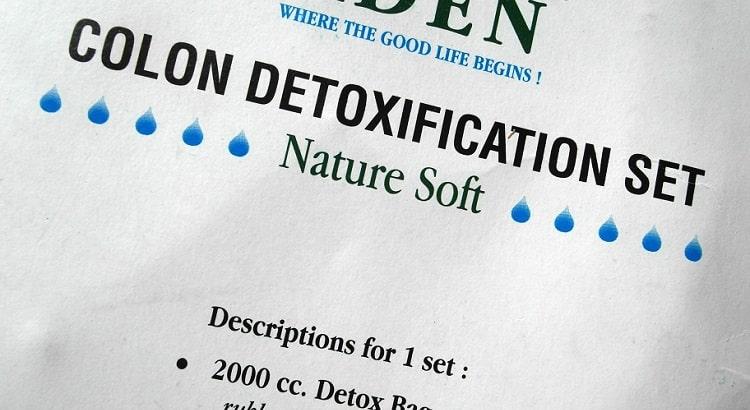 Aden colon detoxification set