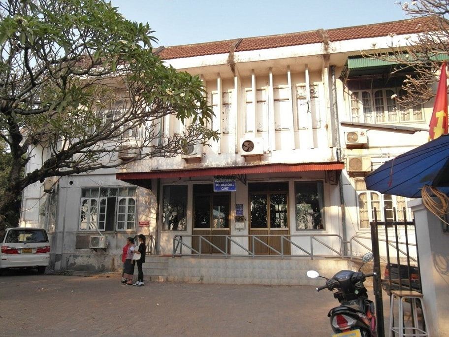 Mahosot international clinic - a place for simple allopathic treatments, Vientiane, Laos