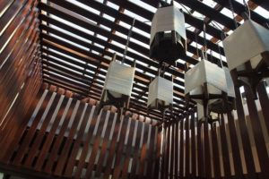 Rustic and traditional decoration inside Fah Lanna Spa