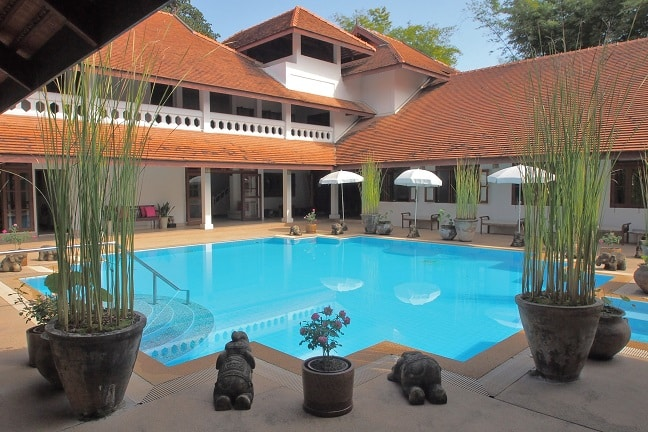 Balavi Center pool, Chiang Mai, Thailand