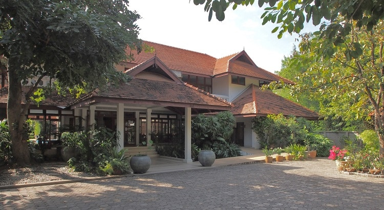 Balavi Viangping Natural Health Center, Chiang Mai, Thailand. Main entrance.