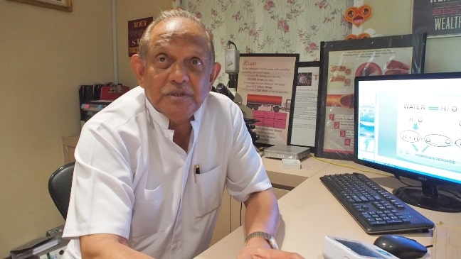 Dr. Mahendran Ponnuthurai - One of the founders of OZ Wellness Centre in Melaka and Lotus Wellbeing in Bengaluru, India