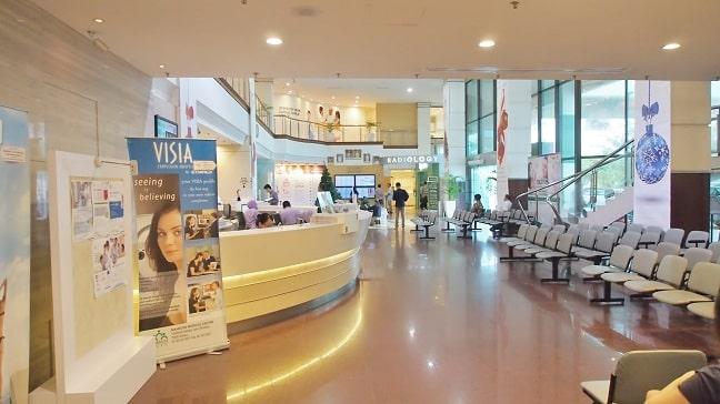 Mahkota Medical Centre - lobby and main admission and registration