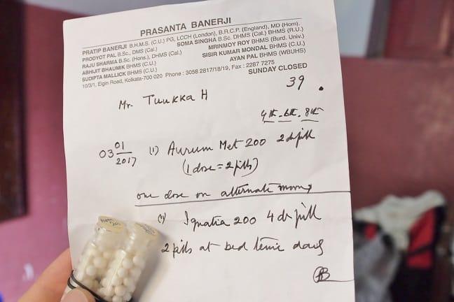 Prescription from Prasanta Banerji-the best cancer hospitals in the world
