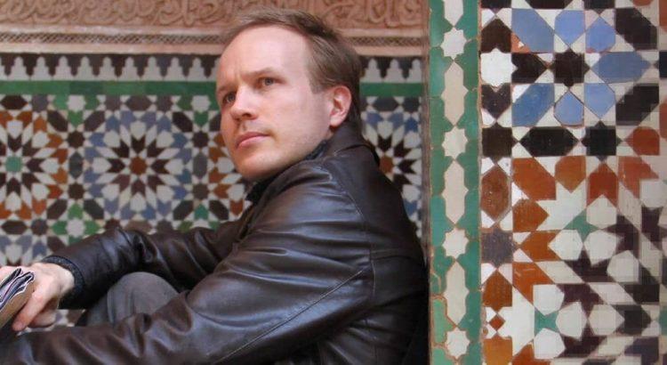 My Journey - Me sitting in Marrakech.