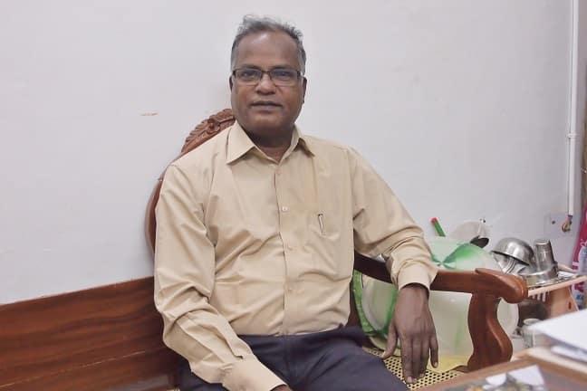 Dr.Parasuraman at Sias healing centre